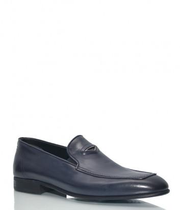 Кожаные туфли Roberto Serpentini 48210 синие