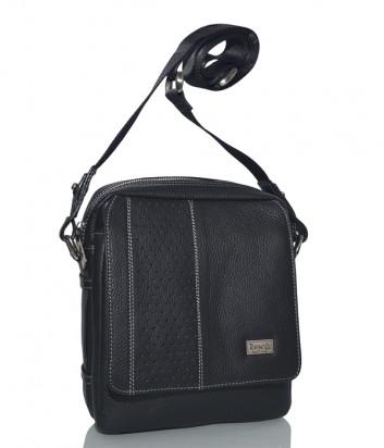Кожаная сумка через плечо Gilda Tonelli 2143 черная