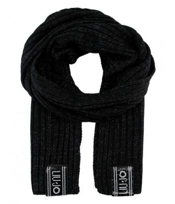 Шарф Liu Jo T69189 черный с люрексом