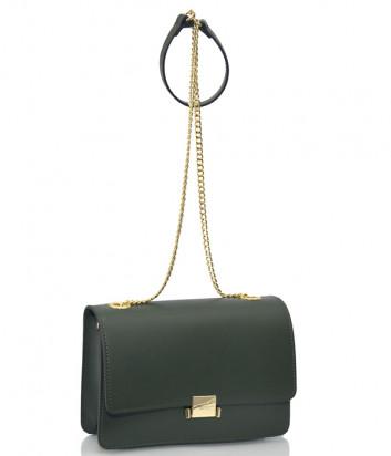 Кожаная сумка на цепочке Tosca Blu TF19HB232 зеленая