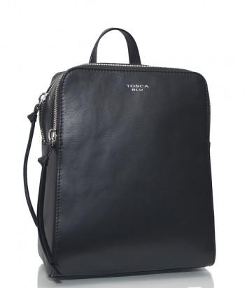 Кожаный рюкзак Tosca Blu TF19JB322 черный
