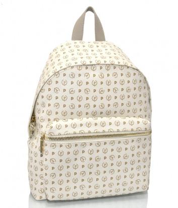 Рюкзак Pollini Q1110 с внешним карманом кремовый