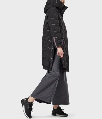 Женская удлиненная куртка EA7 Emporio Armani 6GTK08 TNU5Z черная