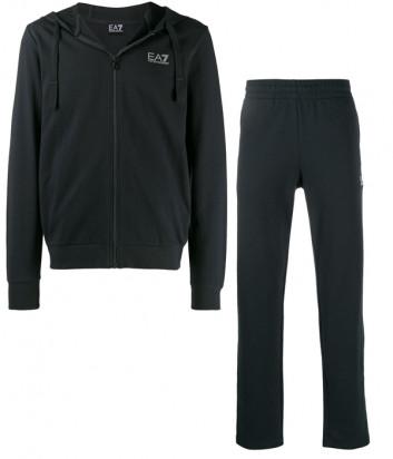 Мужской спортивный костюм EA7 Emporio Armani PJ05Z серый