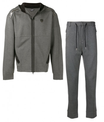 Мужской костюм EA7 Emporio Armani PJQ7Z серый
