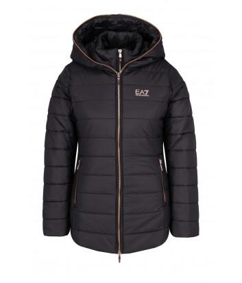 Стеганная куртка-жилет Emporio Armani 6ZTB08 TN01Z черная
