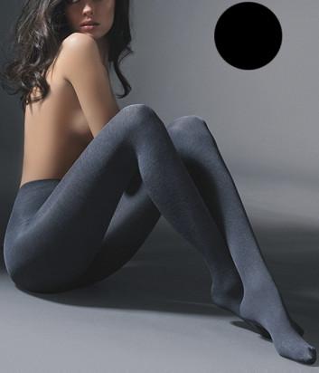 Колготки Gabriella Melange 50 den без трусиковой части черные