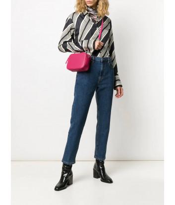 Сумка через плечо Furla Swing 1043357 с стеганной коже розовая