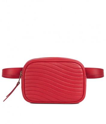 Поясная сумка Furla Swing 1043399 в стеганной коже красная