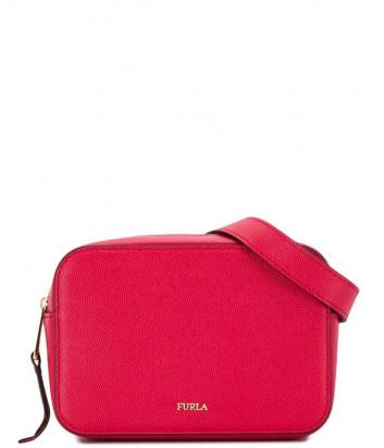 Кожаная поясная сумка Furla Babylon 1049360 красная