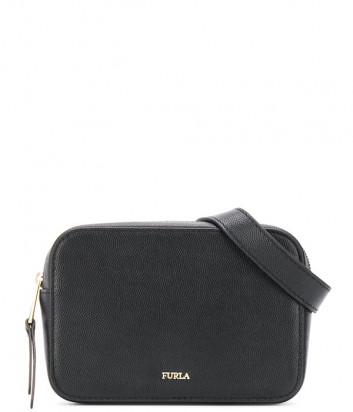 Кожаная поясная сумка Furla Babylon 1049359 черная