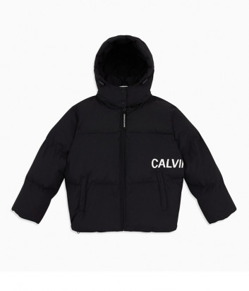 Женский пуховик оверсайз Calvin Klein Jeans J212095 черный