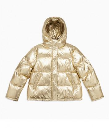 Женский пуховик оверсайз Calvin Klein Jeans J212094 золотой