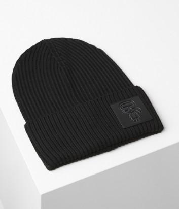 Шапка Karl Lagerfeld Ikonik 96KW3405 черная