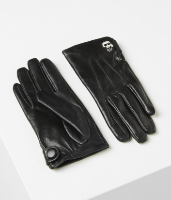 Кожаные перчатки Karl Lagerfeld Ikonik 96KW3603 черные