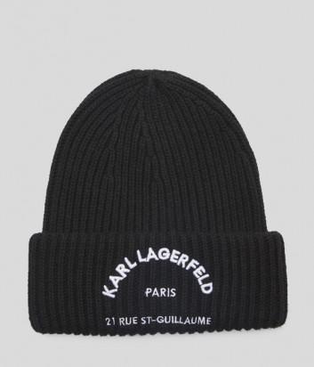 Шапка Karl Lagerfeld 96KW3403 черная