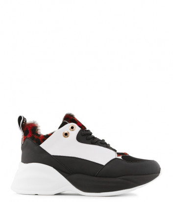 Кожаные кроссовки Alexander Smith 73196 комбинированные