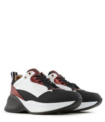 Кожаные кроссовки Alexander Smith 72096 красные