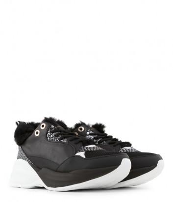 Кожаные кроссовки Alexander Smith 73796 черные