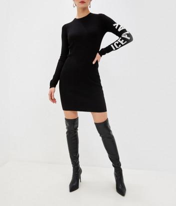 Трикотажное платье ICE PLAY AH049012 черное