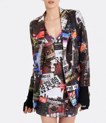 Пиджак ICE PLAY L031P46 расшитый цветными пайетками