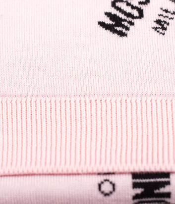 Женский шарф Moschino Boutique 30633 пудровый