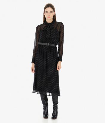 Платье Imperial A9OYYSV черное