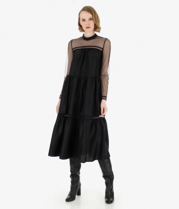 Платье Imperial AAJ0YGJ черное