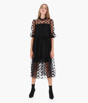 Платье Imperial A9R3YHQ черное