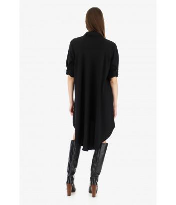 Платье-рубашка Imperial AACVYED с карманами черное