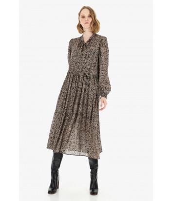 Платье Imperial A9PVYTH принт с люрексом