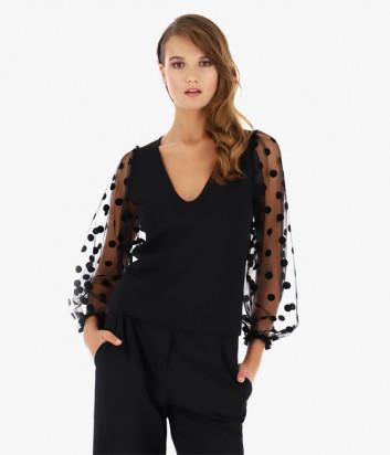 Блуза Imperial TD57YEJ черная