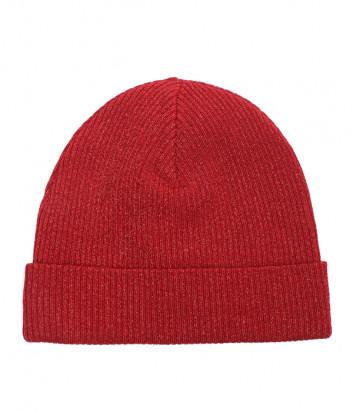 Красная шапка P.A.R.O.S.H. Loulux 010510 с декором