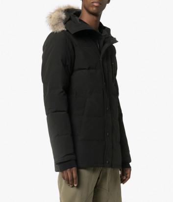 Мужская парка Canada Goose Carson с капюшоном черная