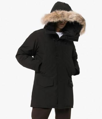 Мужская парка Canada Goose Langford с капюшоном черная