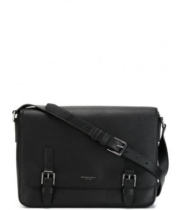 Мужская сумка Michael Kors Bryant в зернистой коже черная