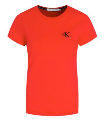 Футболка Calvin Klein Jeans J20J212883 красная