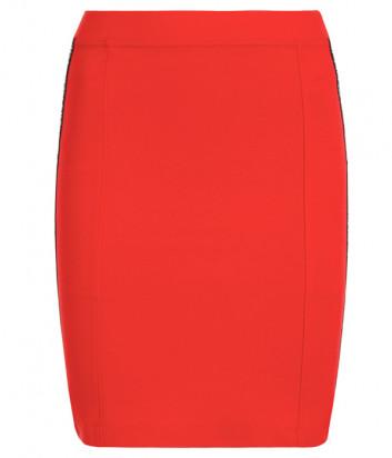 Мини-юбка Calvin Klein Jeans J20J213187 красная с лампасами