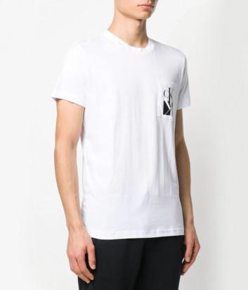 Футболка Calvin Klein Jeans J30J314105 белая