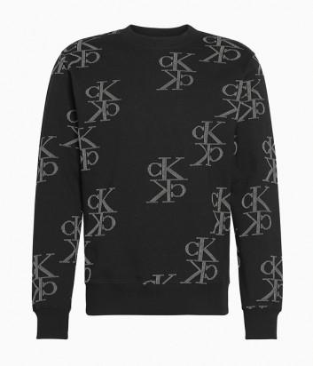 Свитер Calvin Klein Jeans J30J314217 черный с принтом