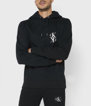 Худи с капюшоном Calvin Klein Jeans J30J314195 черное