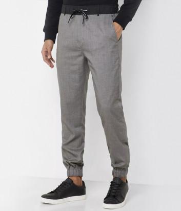 Штаны джоггеры Calvin Klein Jeans J30J314149 серые серые