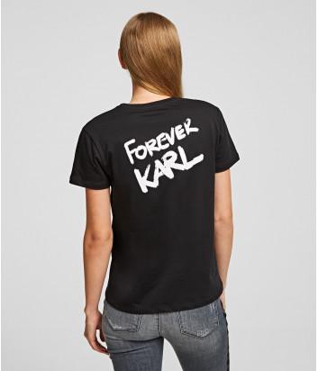 Футболка Karl Lagerfeld 96KW1790 черная