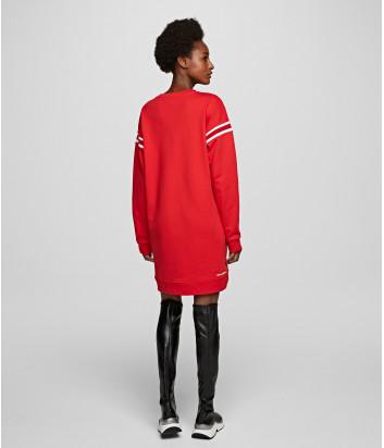 Длинный свитшот-платье Karl Lagerfeld 201W1805 красный