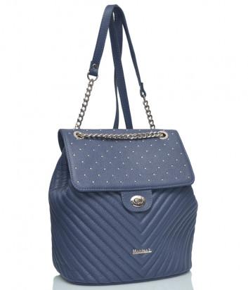 Кожаный рюкзак Marina Creazioni 3975 синий