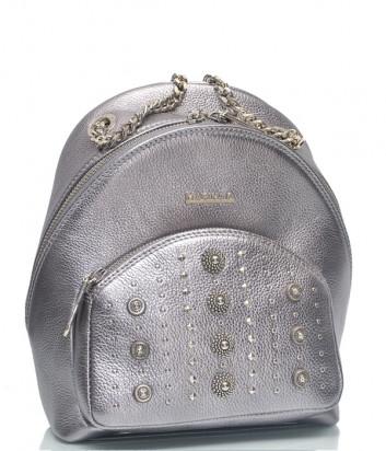 Кожаный рюкзак Marina Creazioni 4554 серебристый