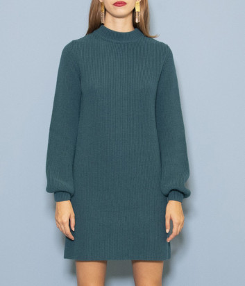 Трикотажное платье Kontatto 3M5204 (в наличии белое, красное, черное)