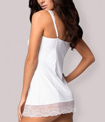 Комплект Obsessive Miamor chemise белый