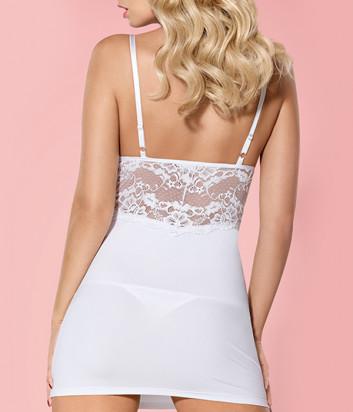 Комплект Obsessive 810-CHE-2 chemise белый