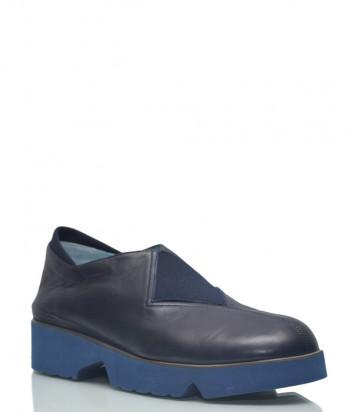 Кожаные туфли Thierry Rabotin 7829 синие